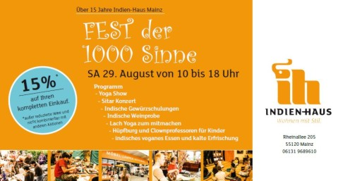 fotos fest der 1000 sinne indien haus mainz stadtleben de. Black Bedroom Furniture Sets. Home Design Ideas