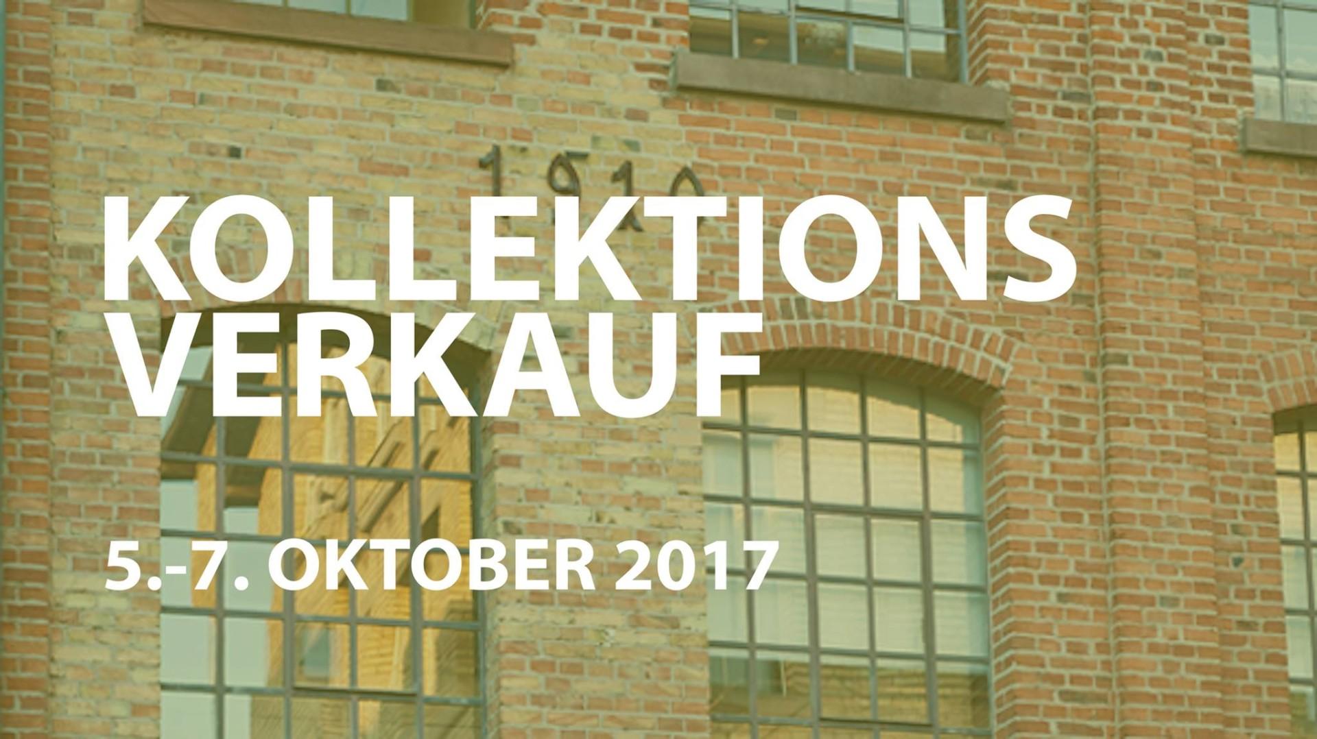 06.10.2017 - Kollektionsverkauf, Heyne Fabrik, Offenbach