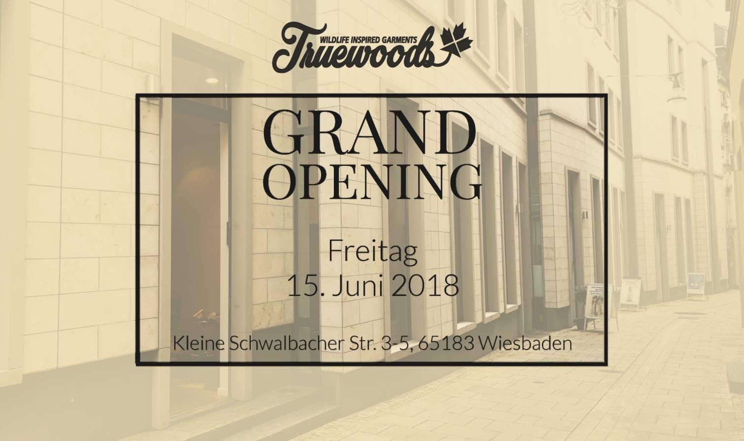15062018 Truewoods No 1 Store Opening Truewoods Wiesbaden
