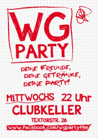 11102018 Wg Party Clubkeller Frankfurt Am Main