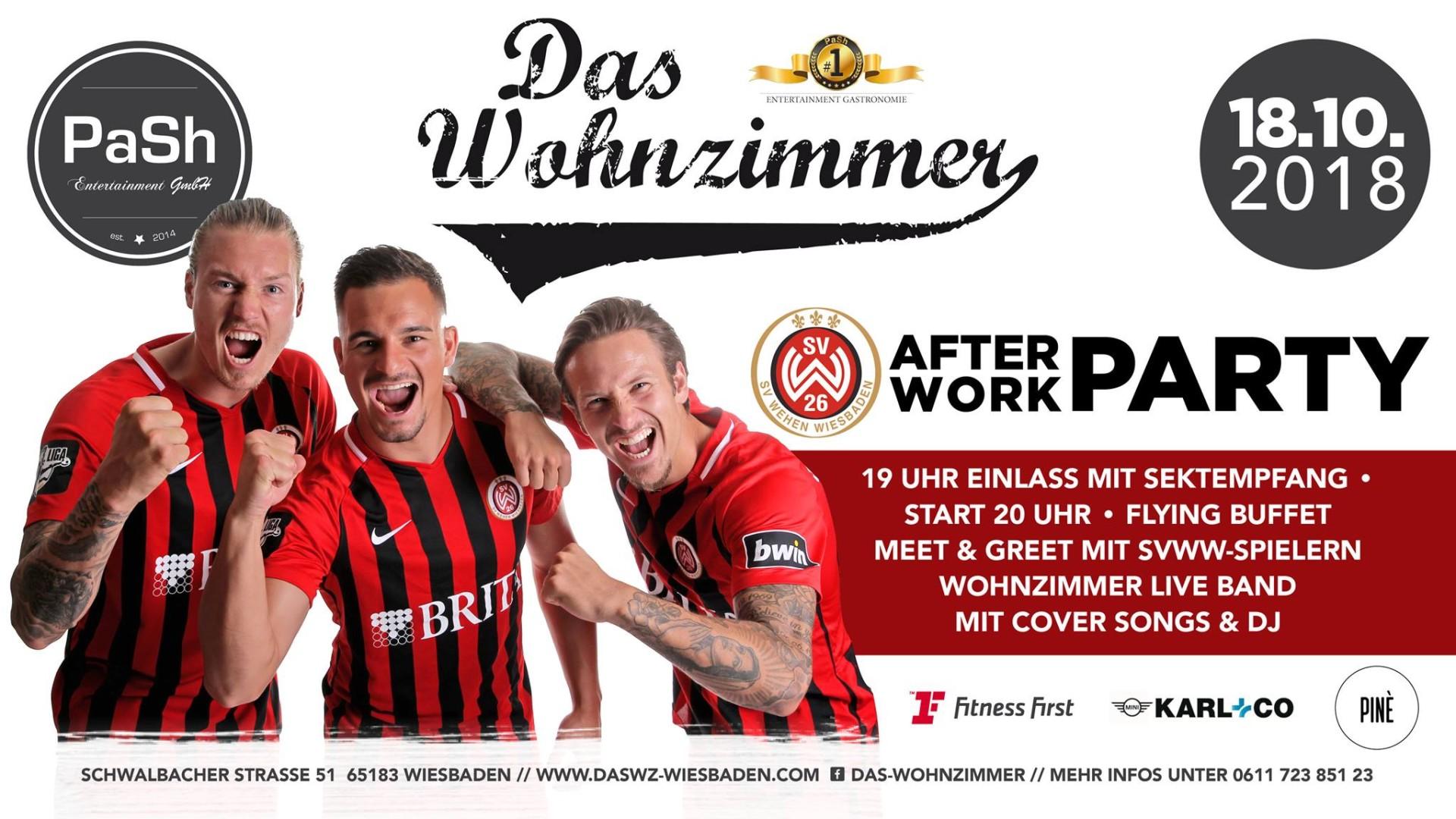18102018 After Work Party Mit Dem Sv Wehen Wiesbaden Das