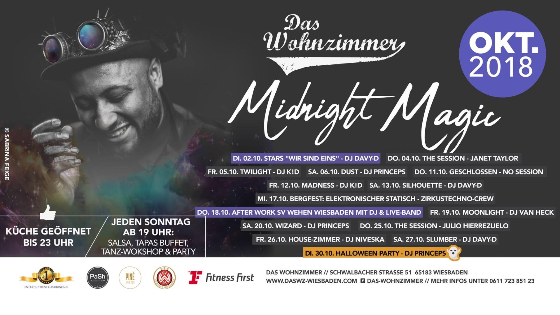 19102018 Midnight Magic Moonlight With Dj Van Heck Das