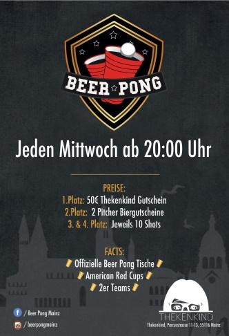 Beer Pong Night Flyer