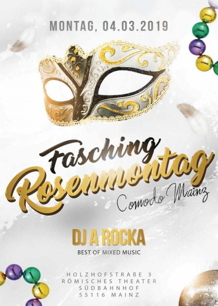 28 01 2019 Fasching Rosenmontag Comodo Mainz