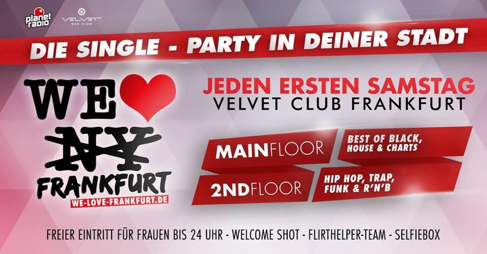 single party frankfurt velvet