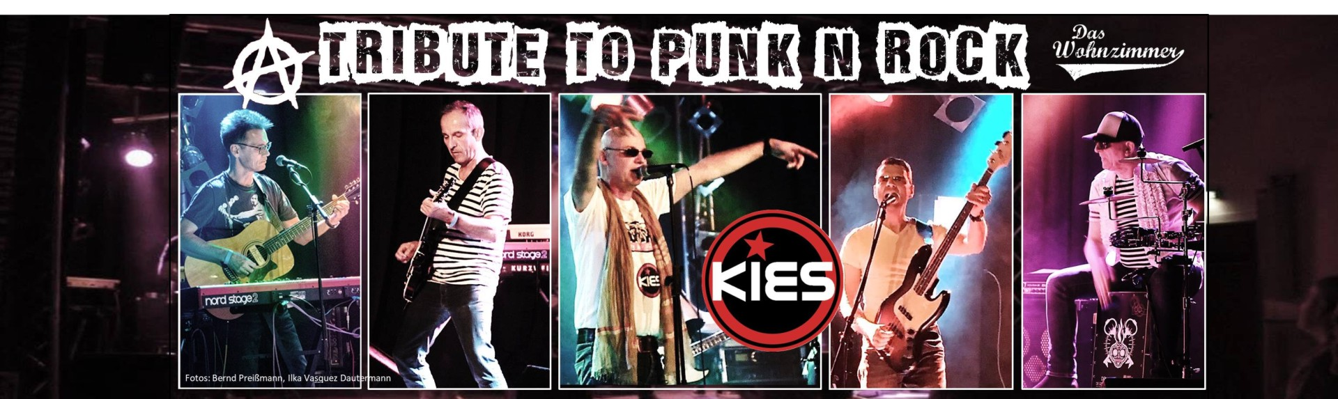 "04.04.2019 - kies im ""wohnzimmer"" a tribute to punk n rock"
