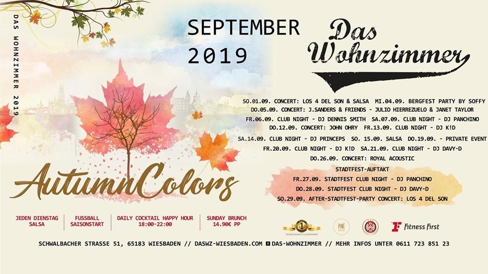 20.09.2019 - autumn colors with dj k!d, das wohnzimmer