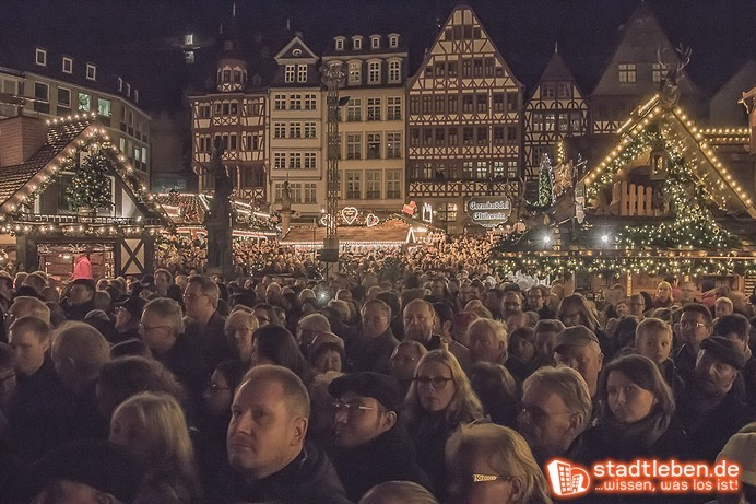 Frankfurter Weihnachtsmarkt.02 12 2019 Frankfurter Weihnachtsmarkt Tourist Information Römer