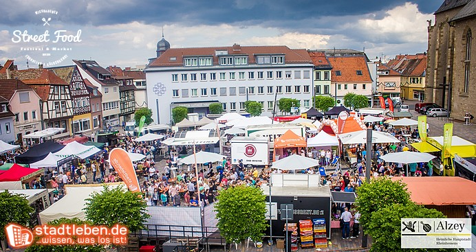 Überblick Street Food Festival