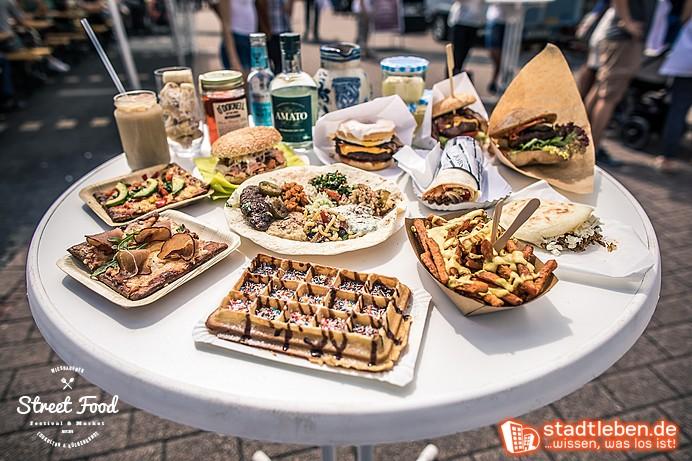 Waffel, Orientalisches, Burger, Süßkartoffelpommes und vieles mehr