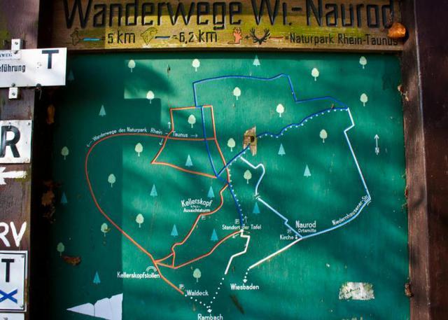 Wanderwege Naurod