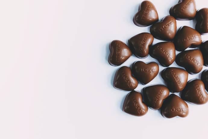 Schokolade, Herzen, Süßigkeiten