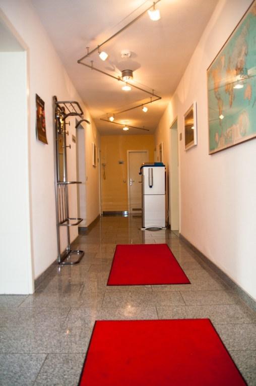 Eingang, Eingangsbereich, Garderobe, Zahnarzt