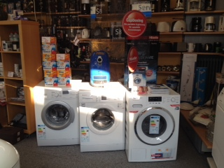 Geschäft, Elektrogeräte, Waschmaschinen