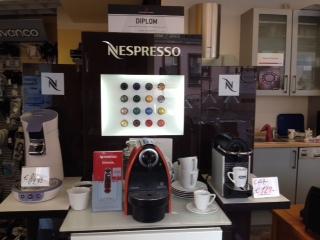 Geschäft, Elektrogeräte, Kaffeemaschinen
