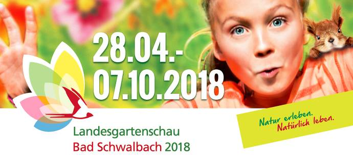 Landesgartenschau, Bad Schwalbach, Mädchen, Blumen, Eichhörnchen, bunt