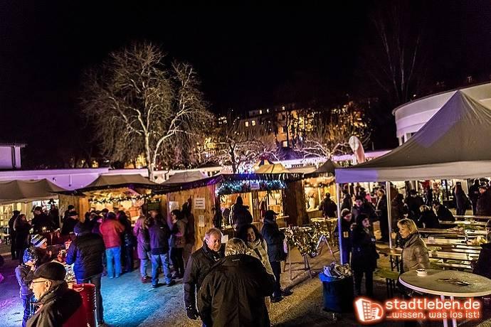 Weihnachtsmarkt, Weihnachten, Bad Schwalbach, Menschen, Stände