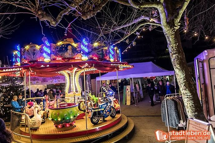 Weihnachtsmarkt, Weihnachten, Bad Schwalbach, Karussell