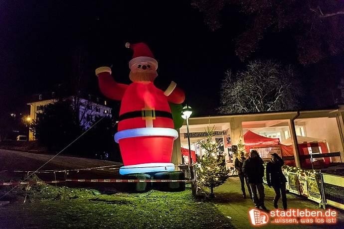 Weihnachtsmarkt, Weihnachten, Bad Schwalbach, Menschen, Weihnachtsmann
