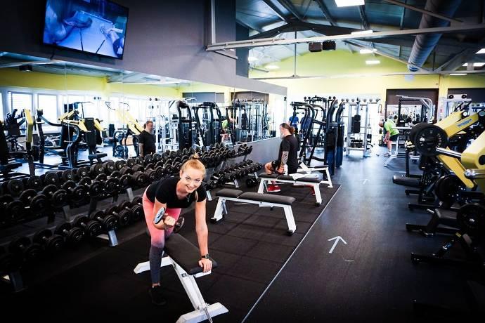 Gerätefläche, Fitnessstudio