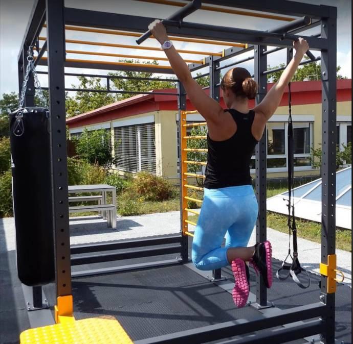 Outdoor, Fitnessterrasse