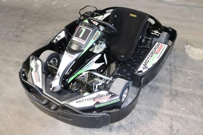 Indoor-Kartbahn: MotorDrom