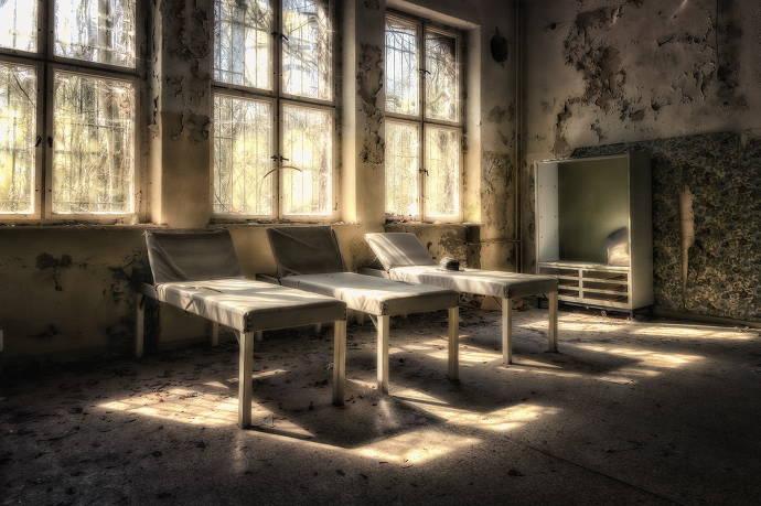 Verlassenes Sanatorium