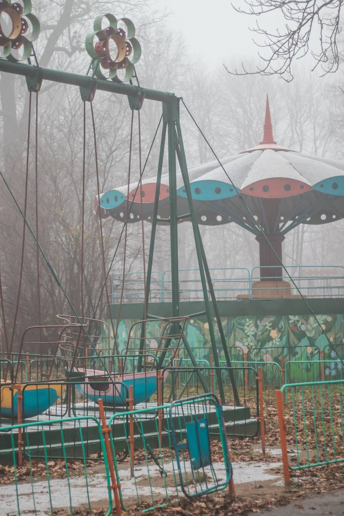 Verlassener Spielplatz