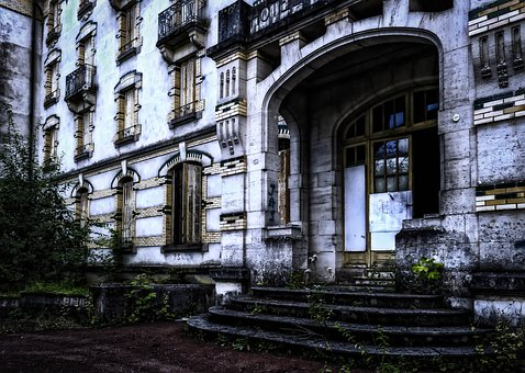 Verlassenes Hotel