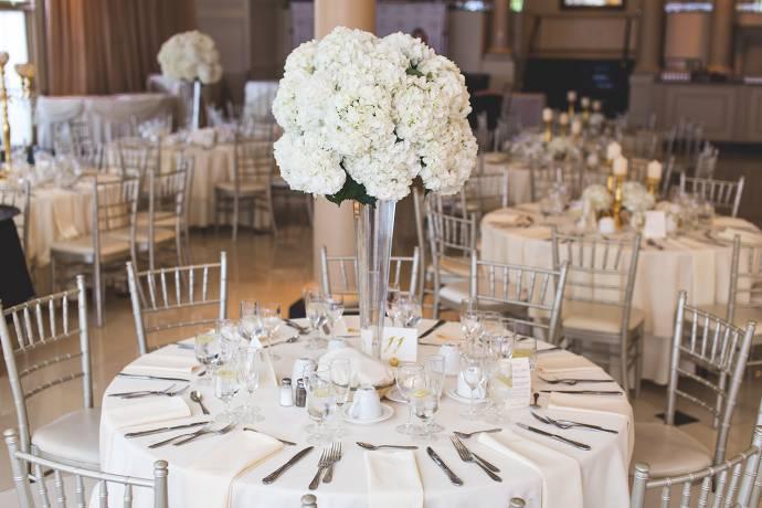 Fest, Tisch mit Dekoration, Hochzeit
