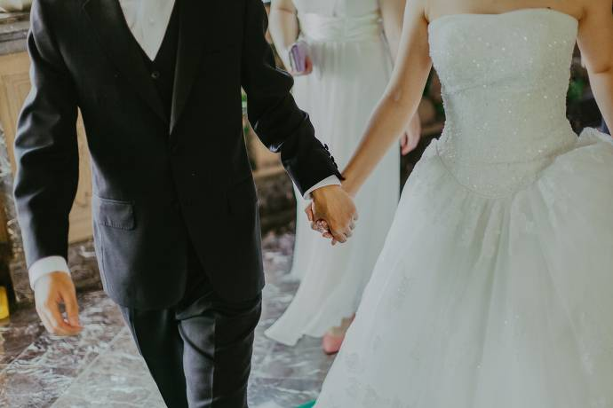 Hochzeitspaar, Hochzeit,