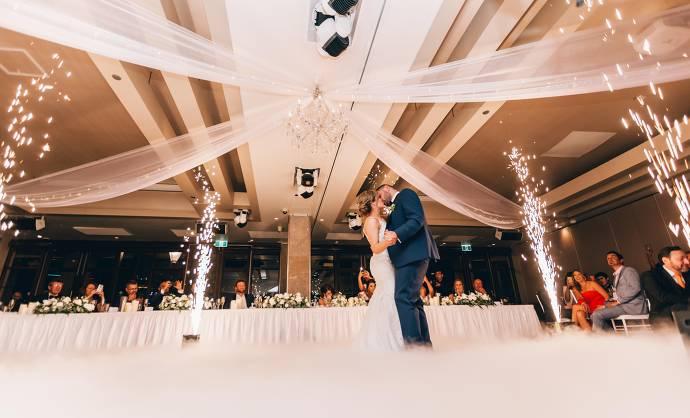 Hochzeitstanz, Hochzeitssaal