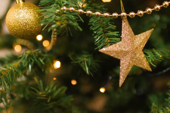 Weihnachtsbaum, Baumschmuck