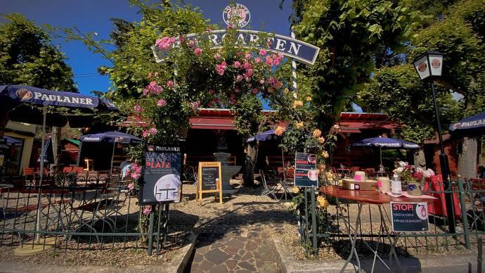 Straßenmühle Biergarten