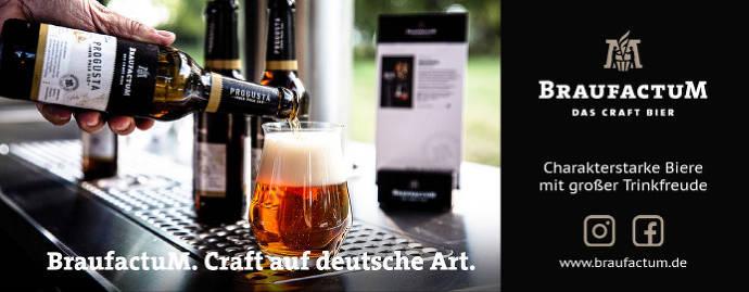 Banner BraufactuM Craft Beer