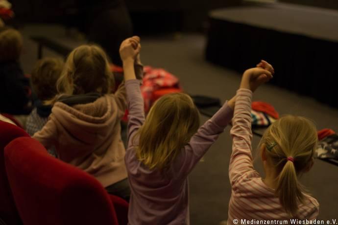 Kinderkino Kinder im Cali Gari Filmbühne