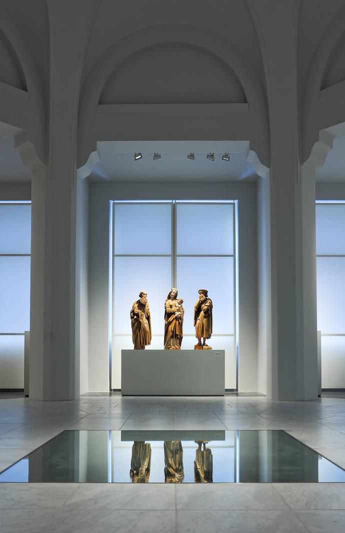 """Blick in den """"Kirchensaal"""""""