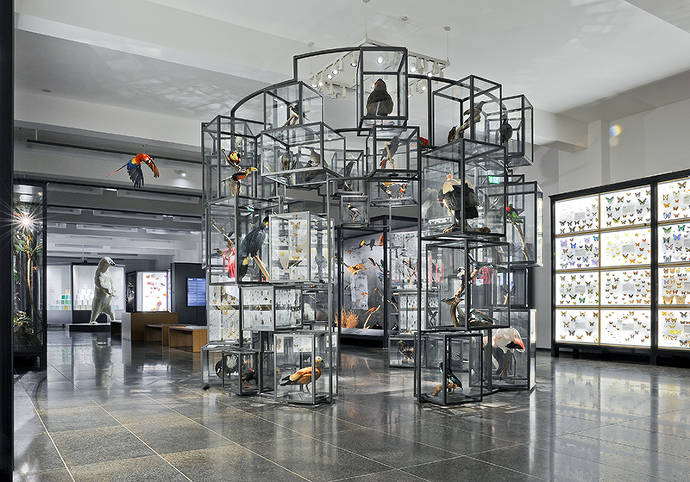 Raumansicht in die Sammlungspräsentation der Klassischen Moderne mit Werken von Alexej von Jawlensky