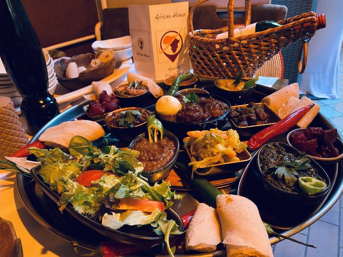 Essen, afrikanisch