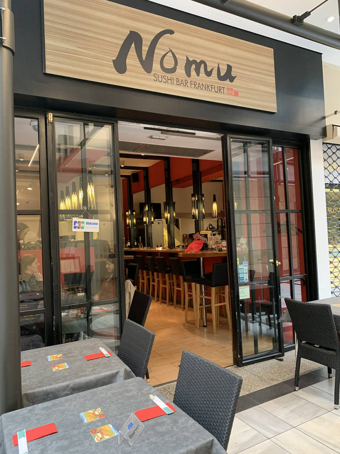 Sushi, Bar, Nomu, Frankfurt