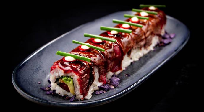 Sushi, Texas, Roll, Sushiroll, Frankfurt