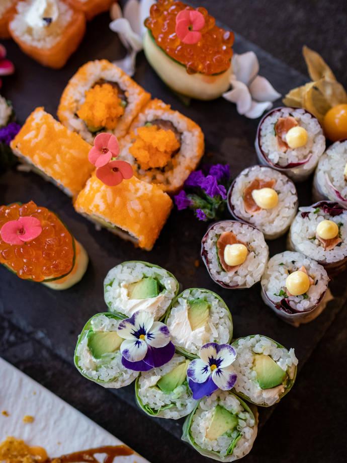 Sushi, Sushi Platte, Frankfurt