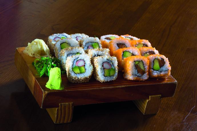 California, Sushi, Sushi Platte, Frankfurt