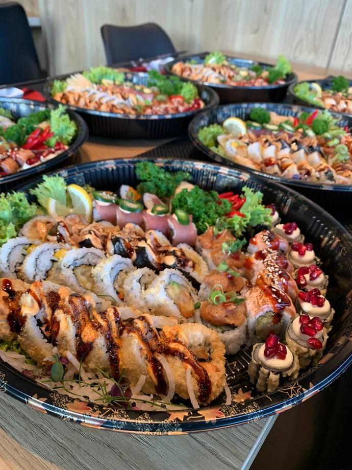 Sushi, Sushi Platte, Fisch