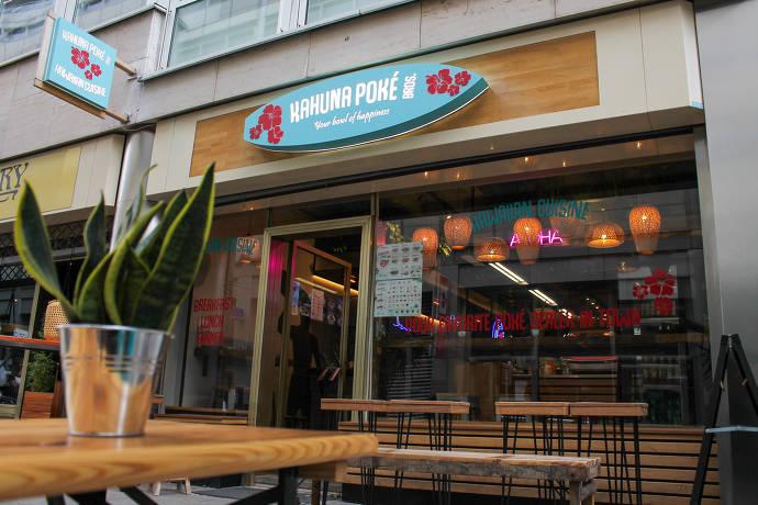 Restaurant, Laden