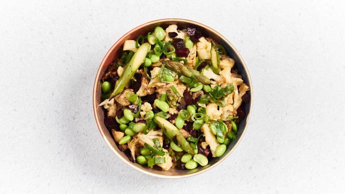 Bowl, gesund, vegetarisch, gemüse