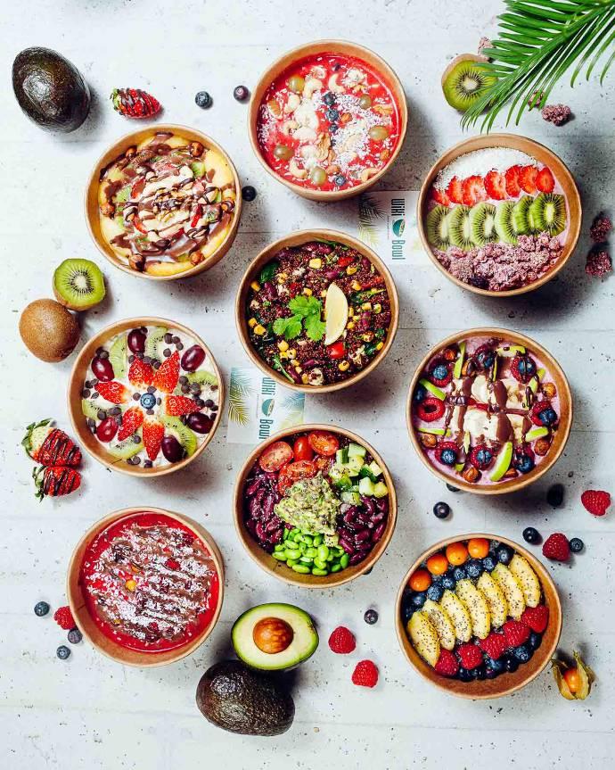 bowls, bunt, gesund