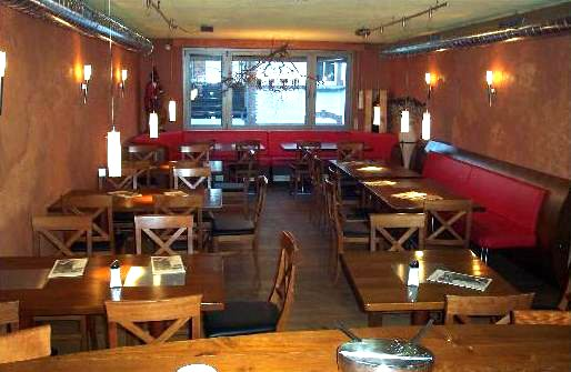Inneneinrichtung, bistro, cafe, restaurant