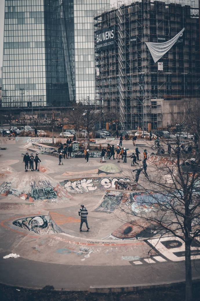 Skatepark Osthafen