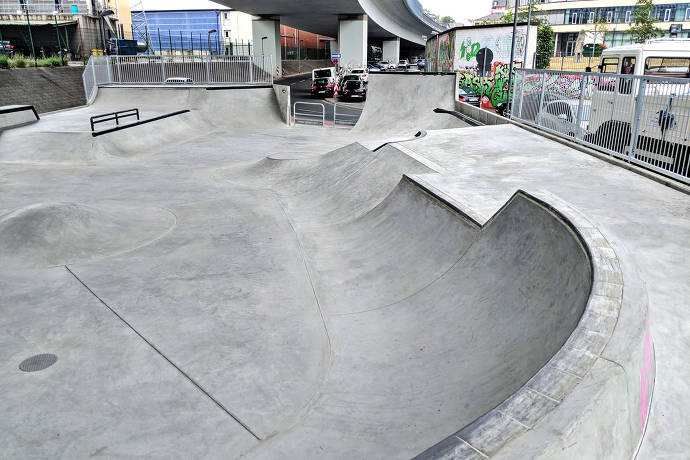 Skatepark Höchst